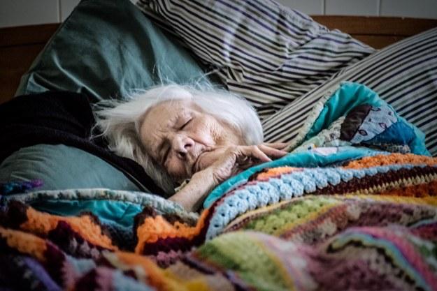 Grandma Sleeps
